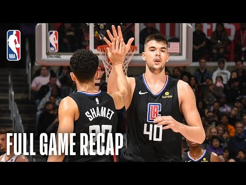 Video: SUNS vs CLIPPERS | LA Comes Out Strong In First Half | February 13, 2019