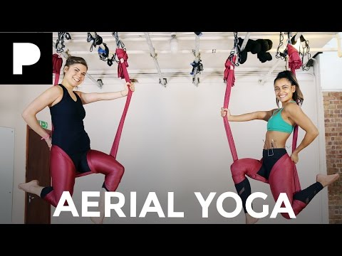 Antigravity Yoga on new Endemol Lifestyle Channel