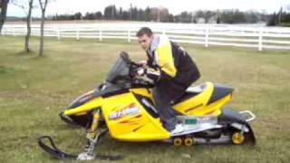 9. 2003 Ski-Doo MXZ Rev 600 H.O.