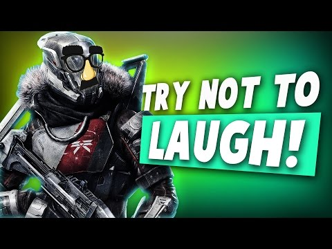 Destiny TRY NOT TO LAUGH CHALLENGE! (Funny Gaming Moments)