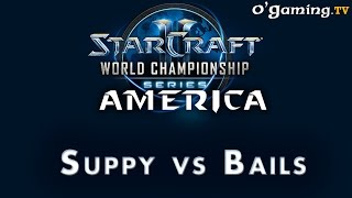 WCS NA Challenger - Day 2 - 4ème BO - Suppy vs Bails