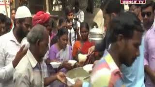 Humanity First Foundation Hyderabad Celebrating 365 Days of Free Food Programme, Munsif TV Coverage