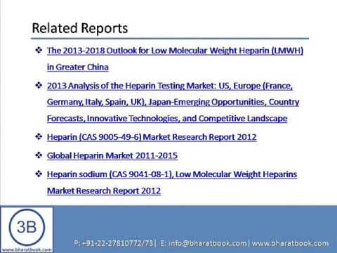 Bharat Book Presents : China Heparin Industry Report, 2013 2015