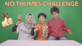 Video KOCAK NO THUMBS challenge FT FATEH HALILINTAR DAN MUNTAZ HALILINTAR MP3, 3GP, MP4, WEBM, AVI, FLV Maret 2019