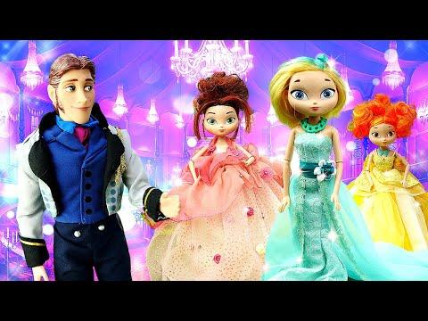 Видео для детей — Сказочный Патруль собираются на бал — Видео игры ОДЕВАЛКИ для … видео