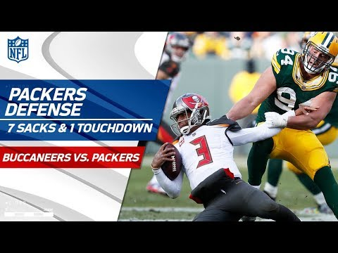 Video: Green Bay's Defense Racks Up 7 Sacks & 1 TD vs. Tampa Bay! | Bucs vs. Packers | Wk 13 Player HLs
