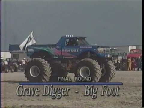 THUNDER ON THE BEACH #2 MONSTER TRUCK  DAY 1 SEMI & FINAL RD