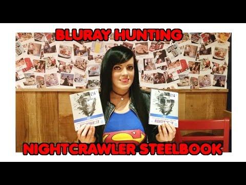 Bluray Hunting in Edinburgh - Nightcrawler Steelbook