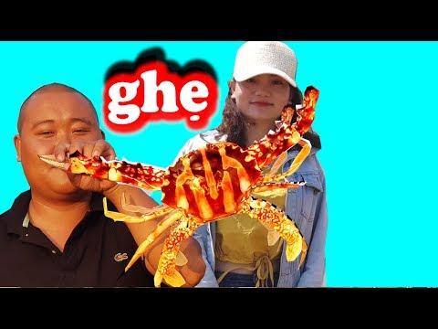 Lần Đầu Tiên Ăn Món CUA SỐNG CHẤM MÙ TẠT wasabi Ngon Tuyệt | Sơn Dược Vlogs #90 - Thời lượng: 22 phút.