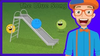 Learn colors for children with Blippi in The Blue Song. The Blippi Blue Song is an upbeat hip hop song to help kids learn colors. Blippi makes educational videos for kids and this Blue song is a fun color song for kids. Watch more Blippi at https://youtube.com/Blippi?sub_confirmation=1https://www.youtube.com/watch?v=WZ0W8aSGzZE&list=PLzgk_uTg08P9G2a3Fvm8sQJrrxhRdt_6U