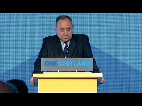 Écosse : Alex Salmond «accepte le verdict des urnes»