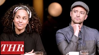Video THR Full Oscar Songwriters Roundtable: Justin Timberlake, John Legend, Alicia Keys & More! MP3, 3GP, MP4, WEBM, AVI, FLV September 2018
