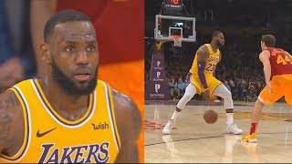 LeBron James Takes Over & Destroys The Pacers In Final Minutes! Lakers vs Pacers