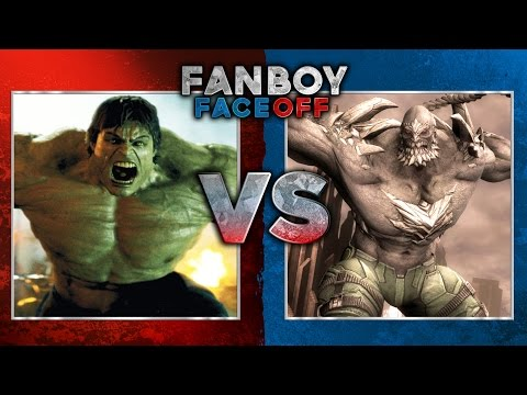 Hulk - Hulk vs Doomsday: Fanboy Faceoff Subscribe Now! ▻ http://bit.ly/SubClevverMovies It's a battle of the beasts as the infinite power of Hulk takes on the adaptability of Doomsday. For More...