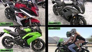 9. 2014 Kawasaki Ninja 650R or Yamaha FZ6R as a Beginner Bike? + Charity Program