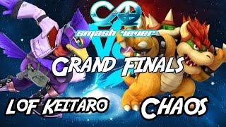 Impressive Bowser play – Chaos (Bowser) vs Keitaro (Falco/Cloud) Smash 4-Ever 32 Grand Finals