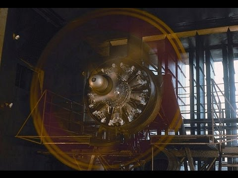 Radial Engine Overhaul Test Cell Run