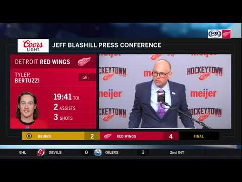 Red Wings LIVE 11.8.19: Jeff Blashill