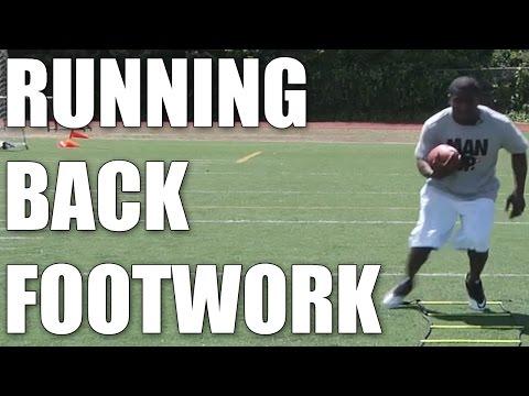 Justin Forsett: Running Back Footwork