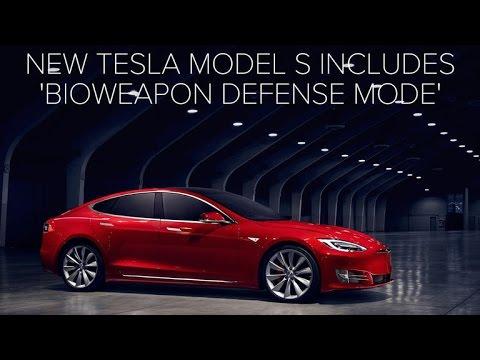 New Tesla Model S includes Bioweapon Defense Mode