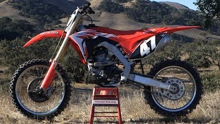 1. First Ride 2018 Honda CRF250 - Motocross Action Magazine