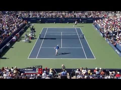 Andy Murray vs Stanislas Wawrinka - US Open 2010