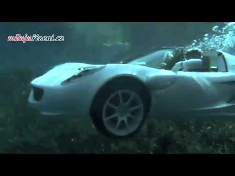 Rinspeed sQuba - první obojživelný automobil