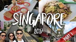 Video SINGAPORE | TRAVEL VLOG 2017 [PART 1] MP3, 3GP, MP4, WEBM, AVI, FLV Februari 2019