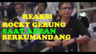 Video Reaksi Rocky Gerung Saat Adzan Berkumandang MP3, 3GP, MP4, WEBM, AVI, FLV Juni 2019