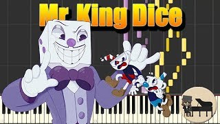 Download Lagu 🎵 Cuphead - Mr. King Dice Theme Song - Kris Maddigan [Piano Tutorial] (Synthesia) HD Cover Mp3