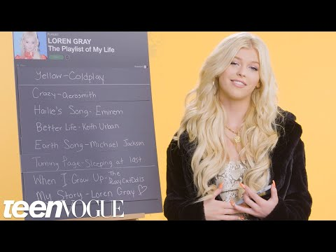 Loren Gray Creates the Playlist to Her Life | Teen Vogue