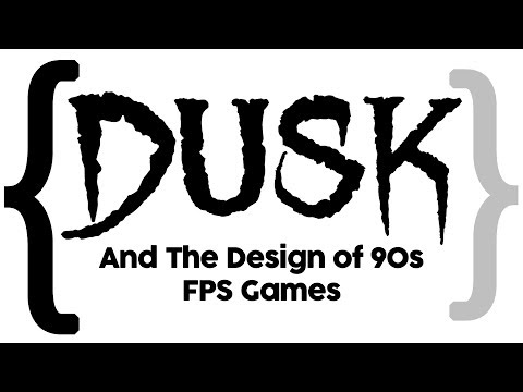 DUSK and the Design of 90's FPS Games