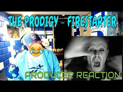 The Prodigy   Firestarter Official Video - Producer Reaction