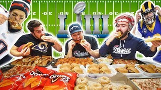 10,000 Calorie Challenge on Super Bowl LIII with TOM BRADY