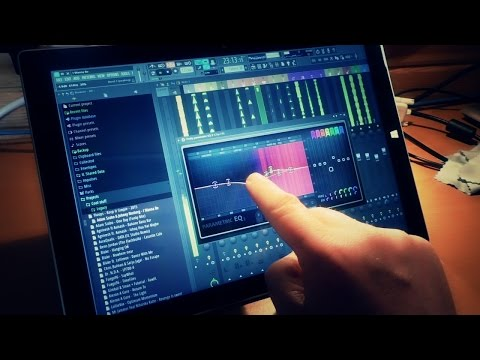 FL Studio 12 - Multi-touch, Performance Mode and the Surface Pro 3