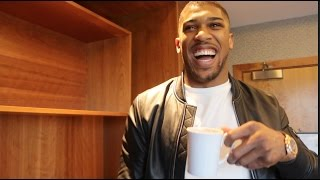 Anthony Joshua comments on Klitschko Win