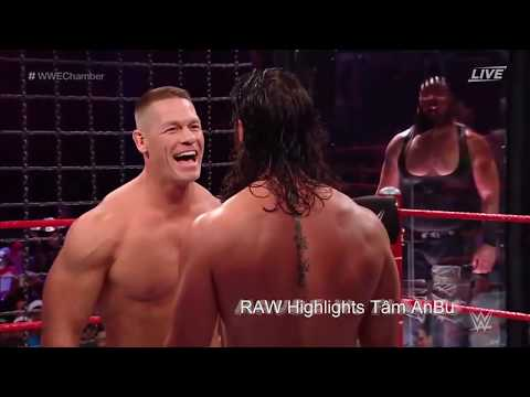 WWE 2019 - JOHN CENA VS ROMAN REIGNS VS BRAUN STROWMAN VS FINN BALOR VS THE MIZ VS ELIAS Full Video
