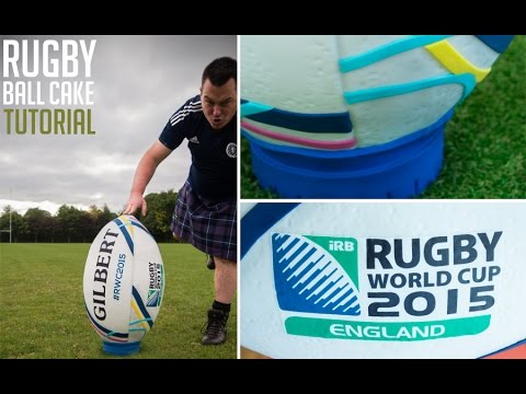 Rugby World Cup 2015 Ball Cake Decorating Tutorial Preview | Paul Bradford Sugarcraft School