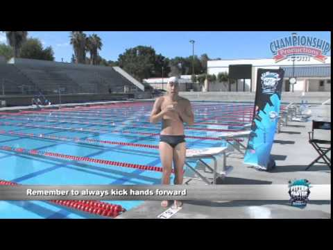 Train Proper Hands and Kicking for the Breaststroke! - Swimming 2015 #11