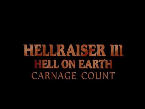 Hellraiser III: Hell on Earth (1992) Carnage Count