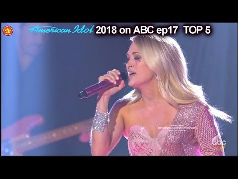 "Video Carrie Underwood sings Her Hit Single ""Cry Pretty"" Top 5 American Idol 2018 download in MP3, 3GP, MP4, WEBM, AVI, FLV January 2017"