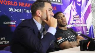 Anthony Joshua vs Martin - Post Fight Press Conference