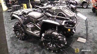 4. 2017 Can Am Outlander X mr 1000R Recreational ATV - Walkaround - 2016 AIMExpo Orlando