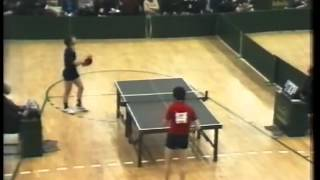 Klampar Tibor vs Stellan Bengston - European Table Tennis TOP12  1981.
