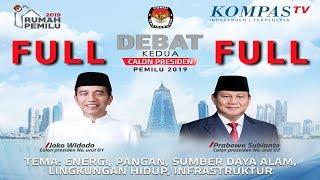 Video FULL LIVE DEBAT Kedua Capres Pemilu 2019 -- Jokowi vs Prabowo -- MP3, 3GP, MP4, WEBM, AVI, FLV Juni 2019