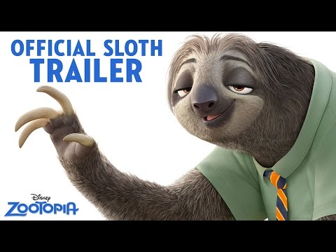 disney zootopia dmv laughing sloth gif