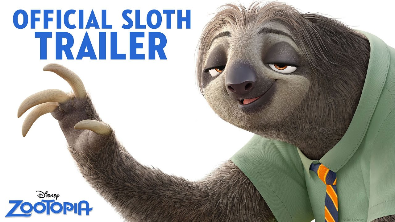 Meet the Sloths in Disney's Zootopia!