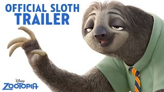 Zootopia Official US Sloth Trailer - YouTube
