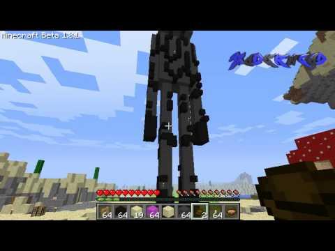 Enderman Gigante! Minecraft Español!
