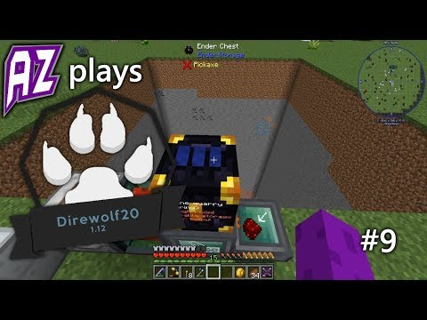 AZ Plays Direwolf20 1.12.2 #9 - Building a Quarry